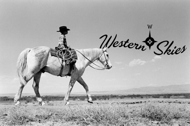"""""""Little Wrangler"""" by Myron Wood, May, 1962. Copyright Pikes Peak Library District, courtesy of Special Collections. Image Number: 002-1233"""