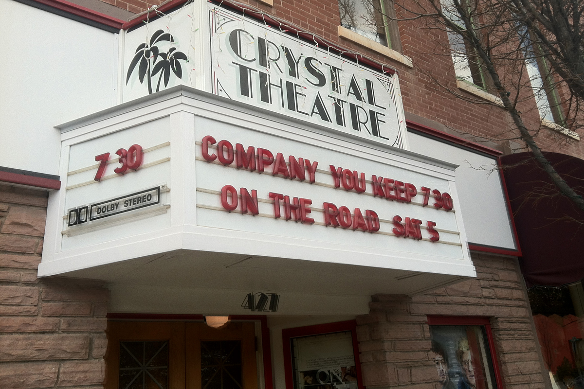 The Crystal Theatre in Carbondale converted to digital in September after a successful local fundraising campaign.