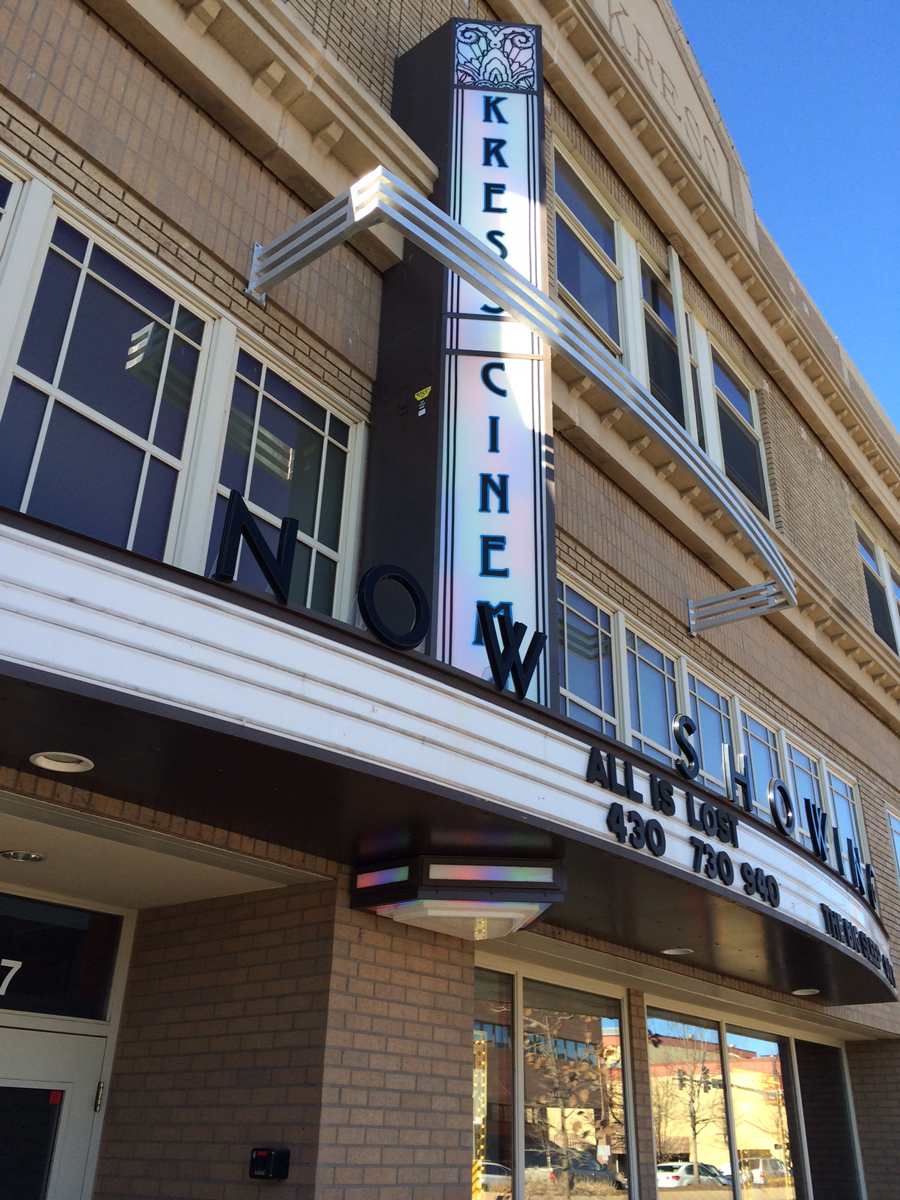 The Kress Cinema is located in downtown Greeley. They ran a successful Kickstarter campaign to raise the money to convert to digital.