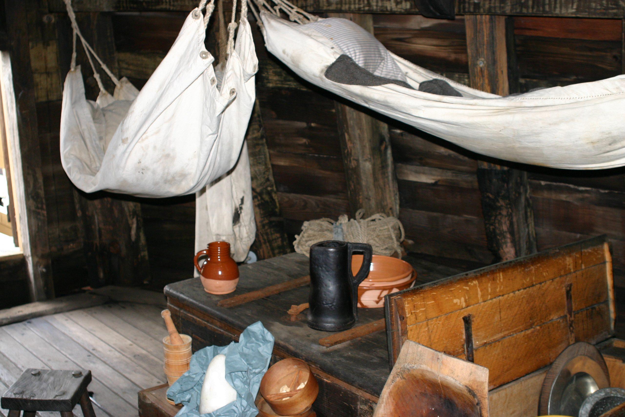 Mayflower reproduction interior