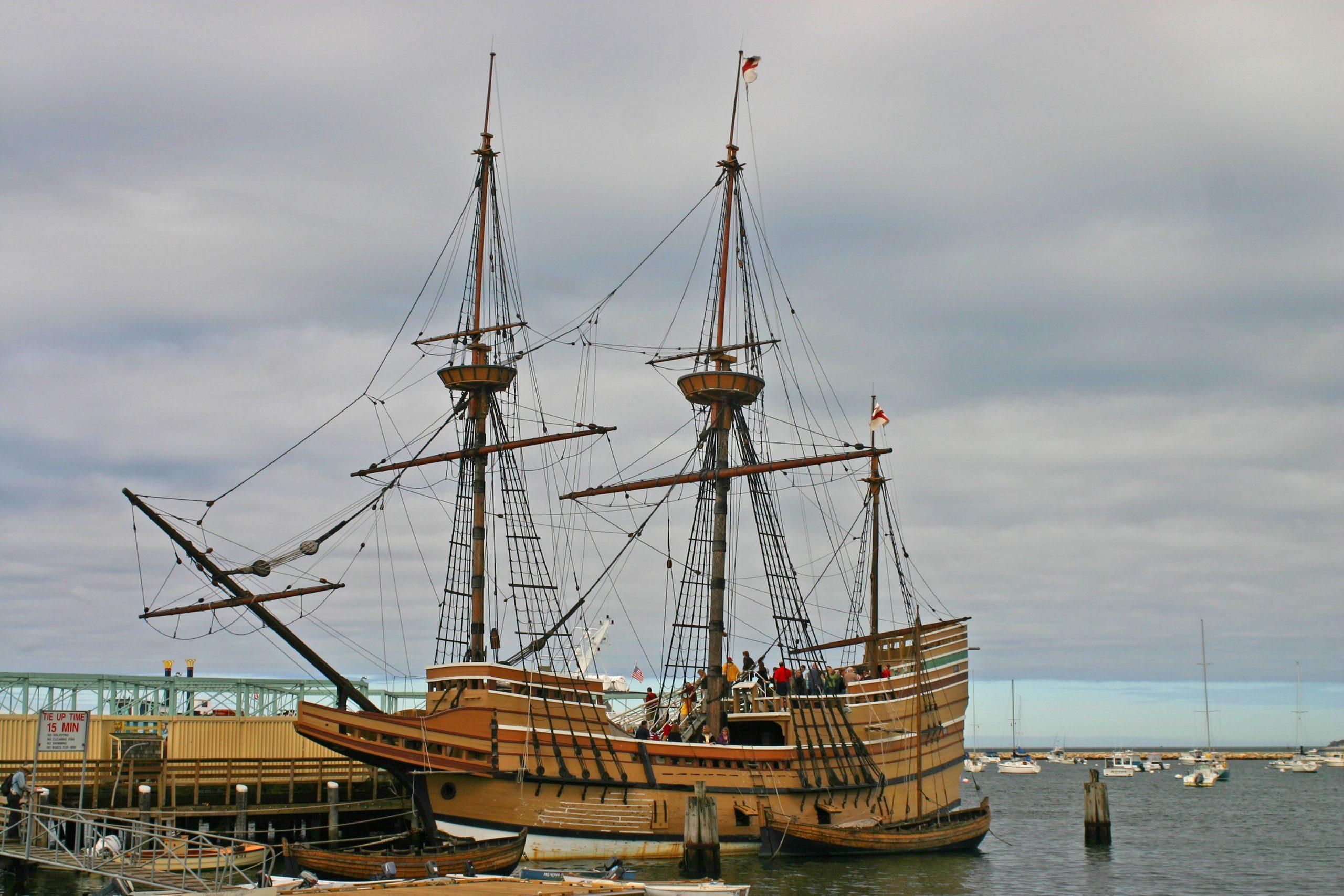 Mayflower reproduction