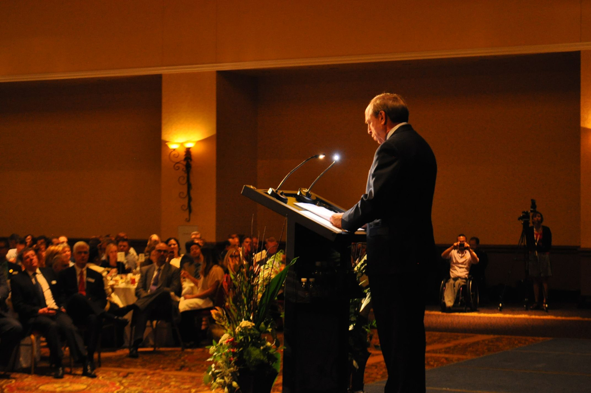 Colorado Springs Mayor John Suthers delivers his first State of the City address