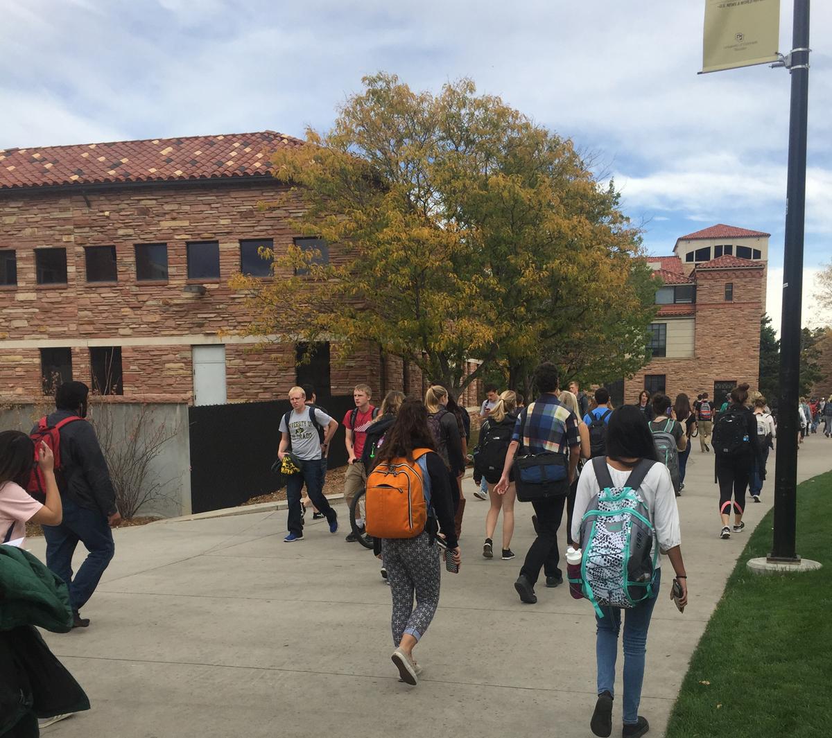 CU-Boulder campus