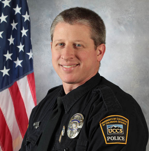 Officer Garrett Swasey of the UCCS Police Department is among the confirmed dead. Swasey was responding in support of the Colorado Springs Police Department.