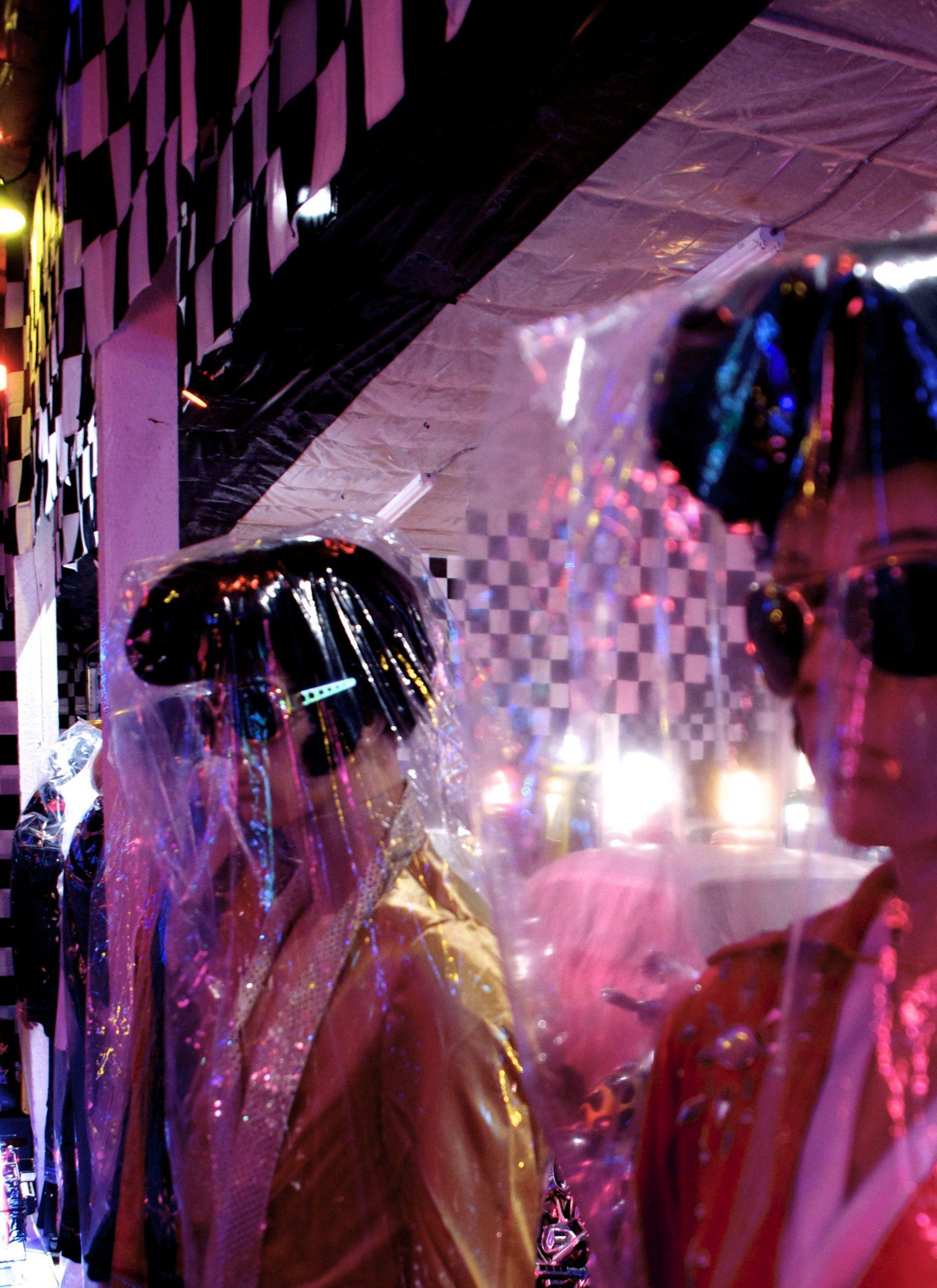 Elvis mannequins in the Elvis room