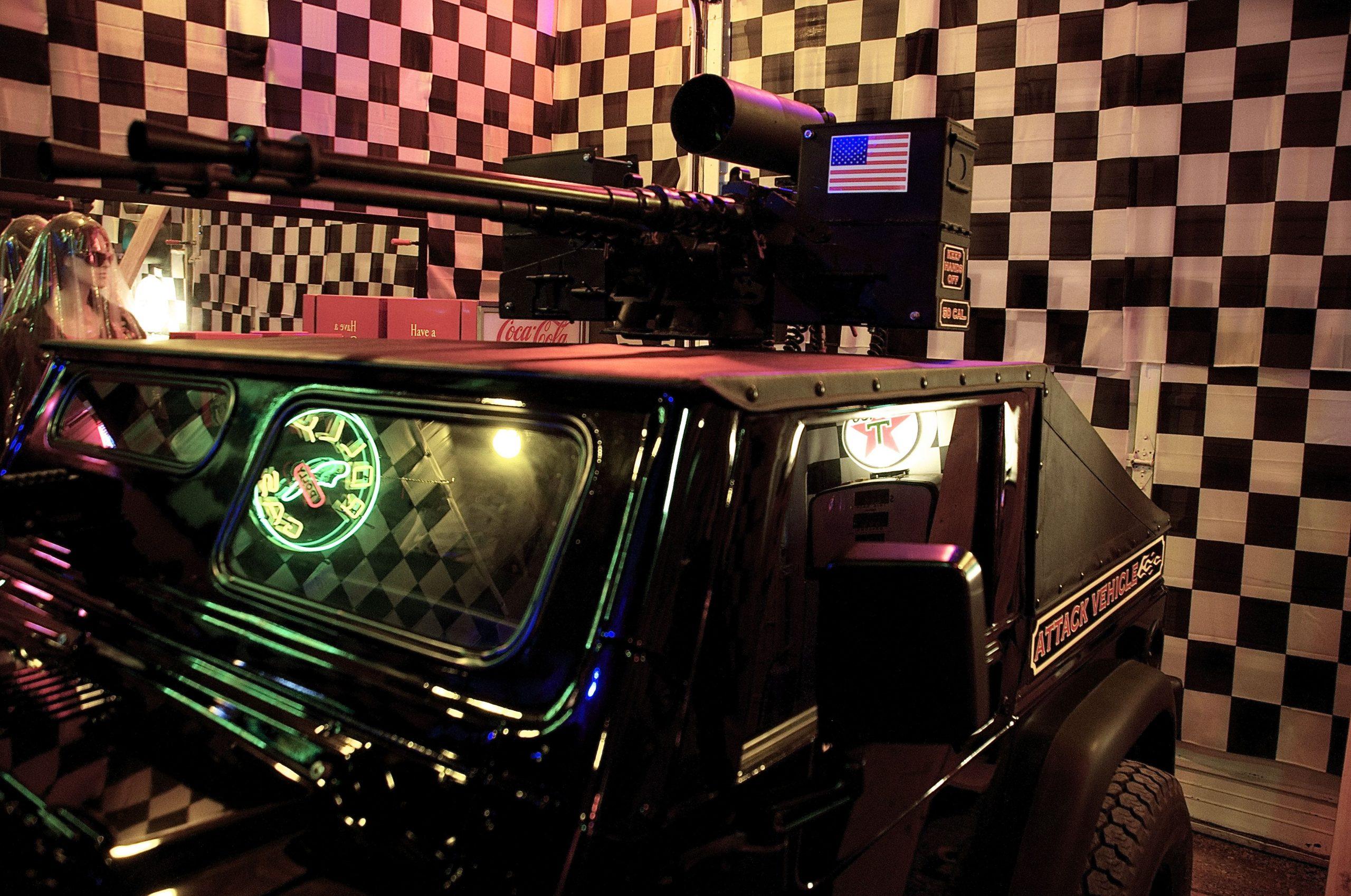 "Dragonman's ""Attack Vehicle"" Jeep"