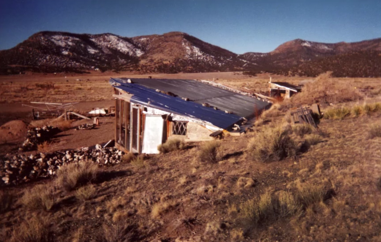 Mike Rust's home in Saguache County (looking Southwest)