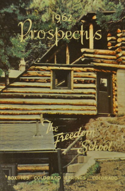 The Freedom School Prospectus 1962