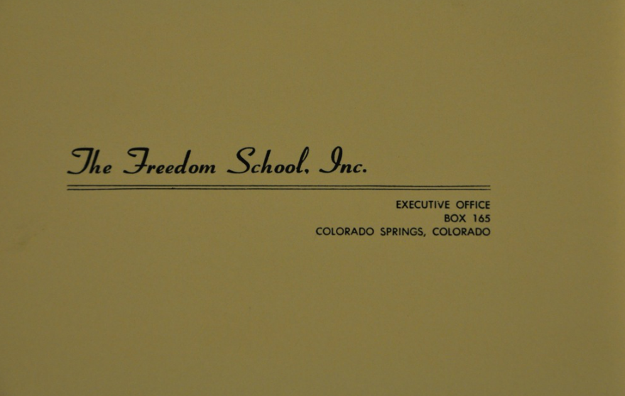 Freedom School Letterhead