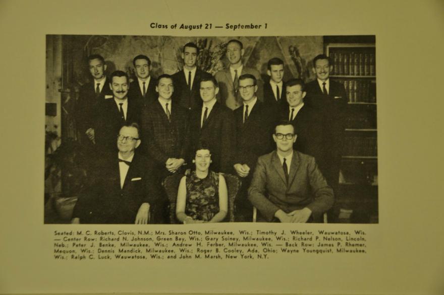 Class Photo from a Freedom School Prospectus ca. 1963-1964