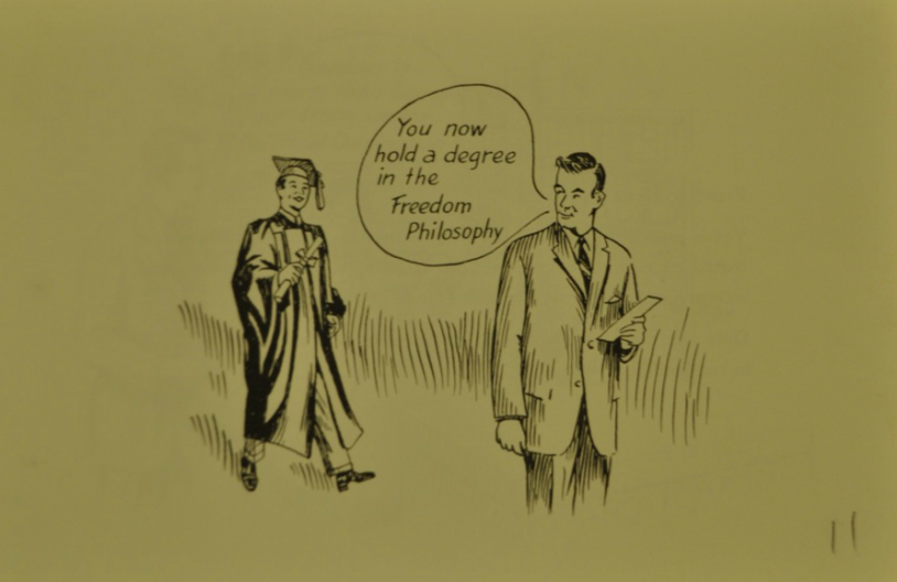 Illustration from a Freedom School Promotional Brochure