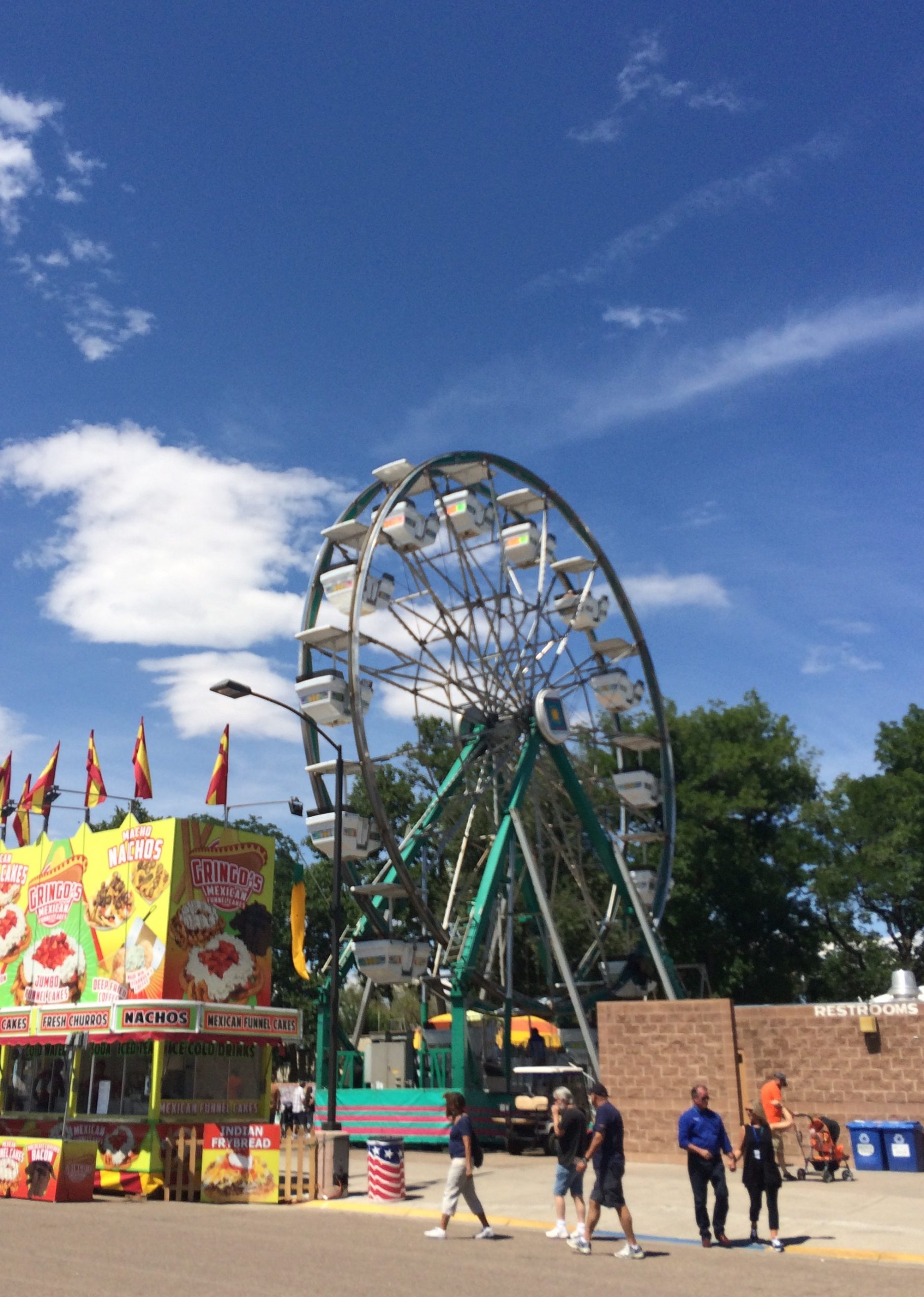 Carnival rides are a staple at the Colorado State Fair.