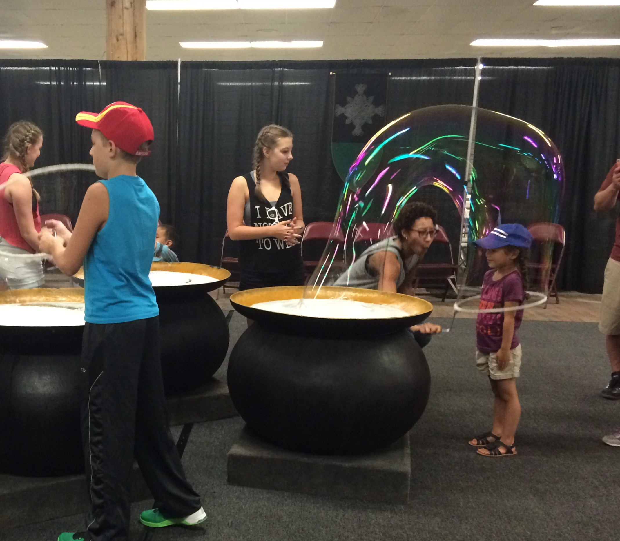 """New this year is the """"Wizards Chest,"""" a hands-on, interactive science exhibit."""