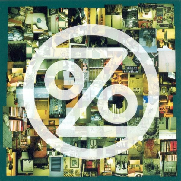Album art from Ozomatli's debut, self-titled album, released 20 years ago this summer