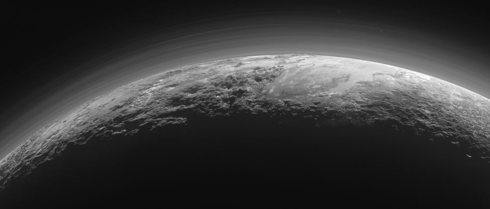 the vistas of pluto
