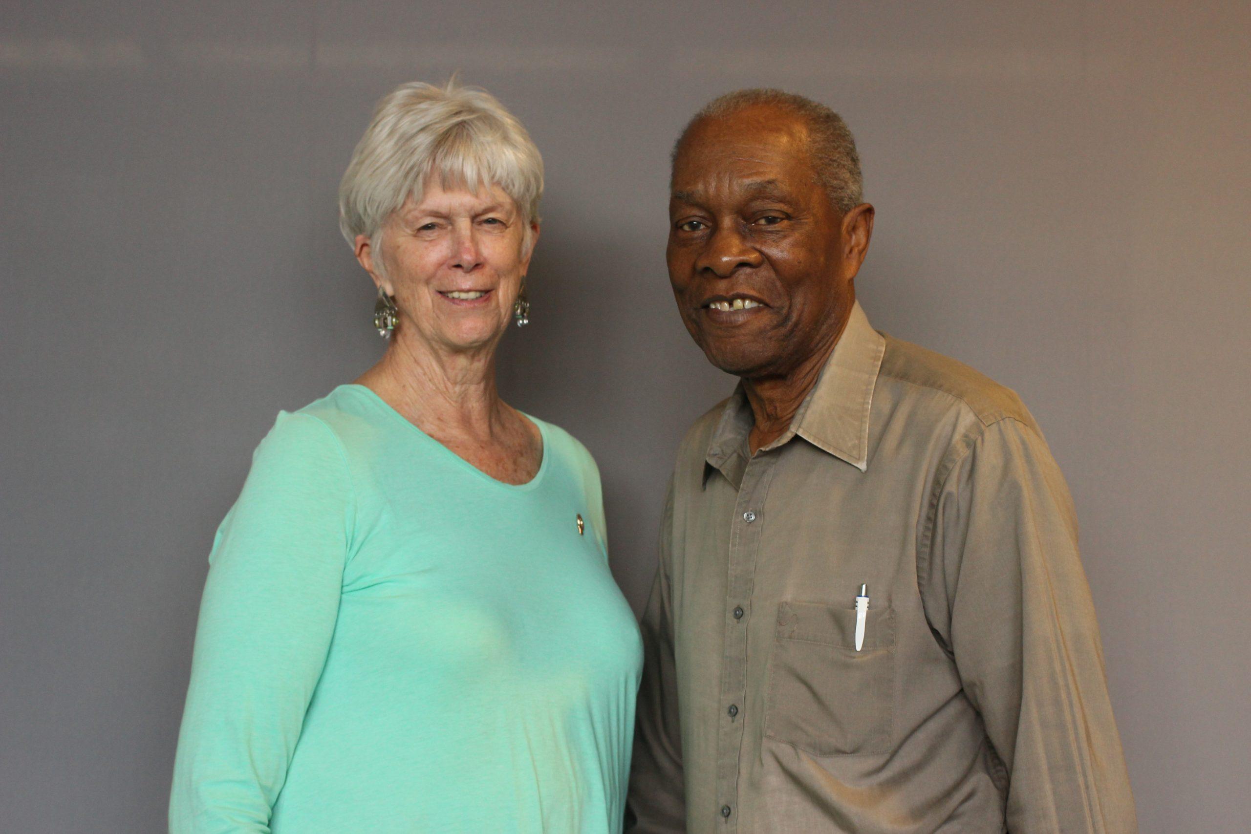 Robert Munn and Karen Dannowitz