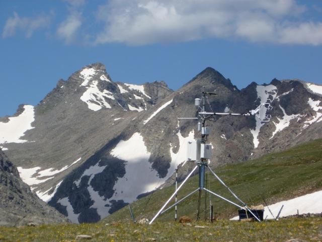 Monitoring device on Niwot Ridge
