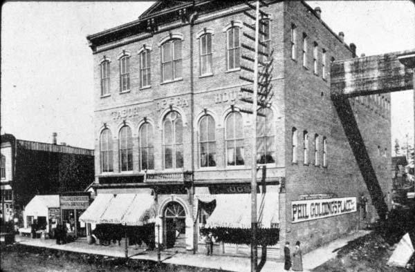 Photo: Tabor Opera House 1800s
