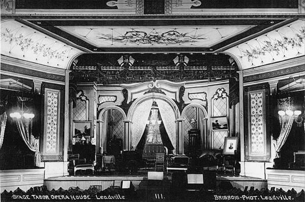 Photo: Tabor interior 1800s