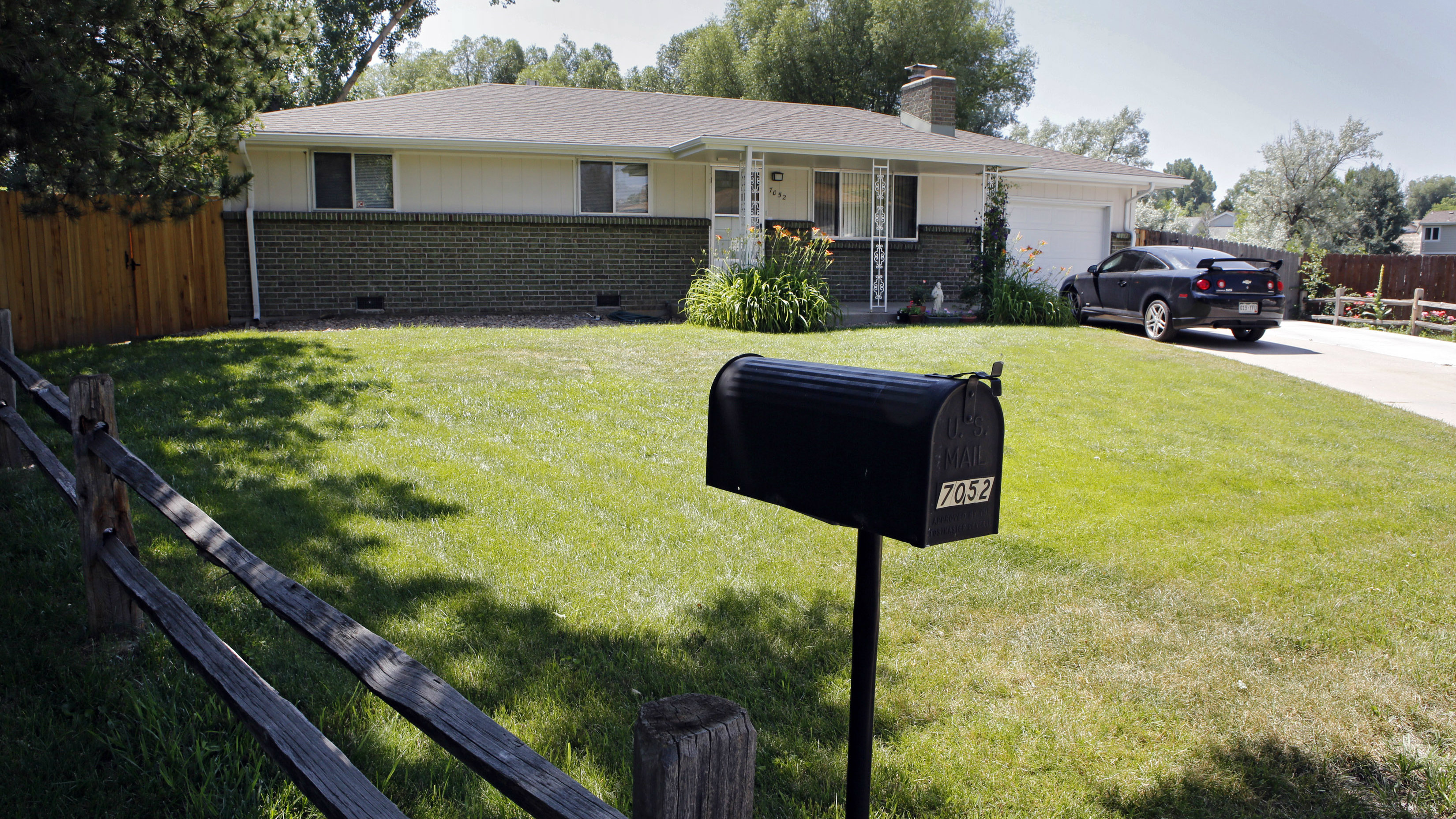 Photo: Shannon Maureen Conley's childhood home (AP Photo)