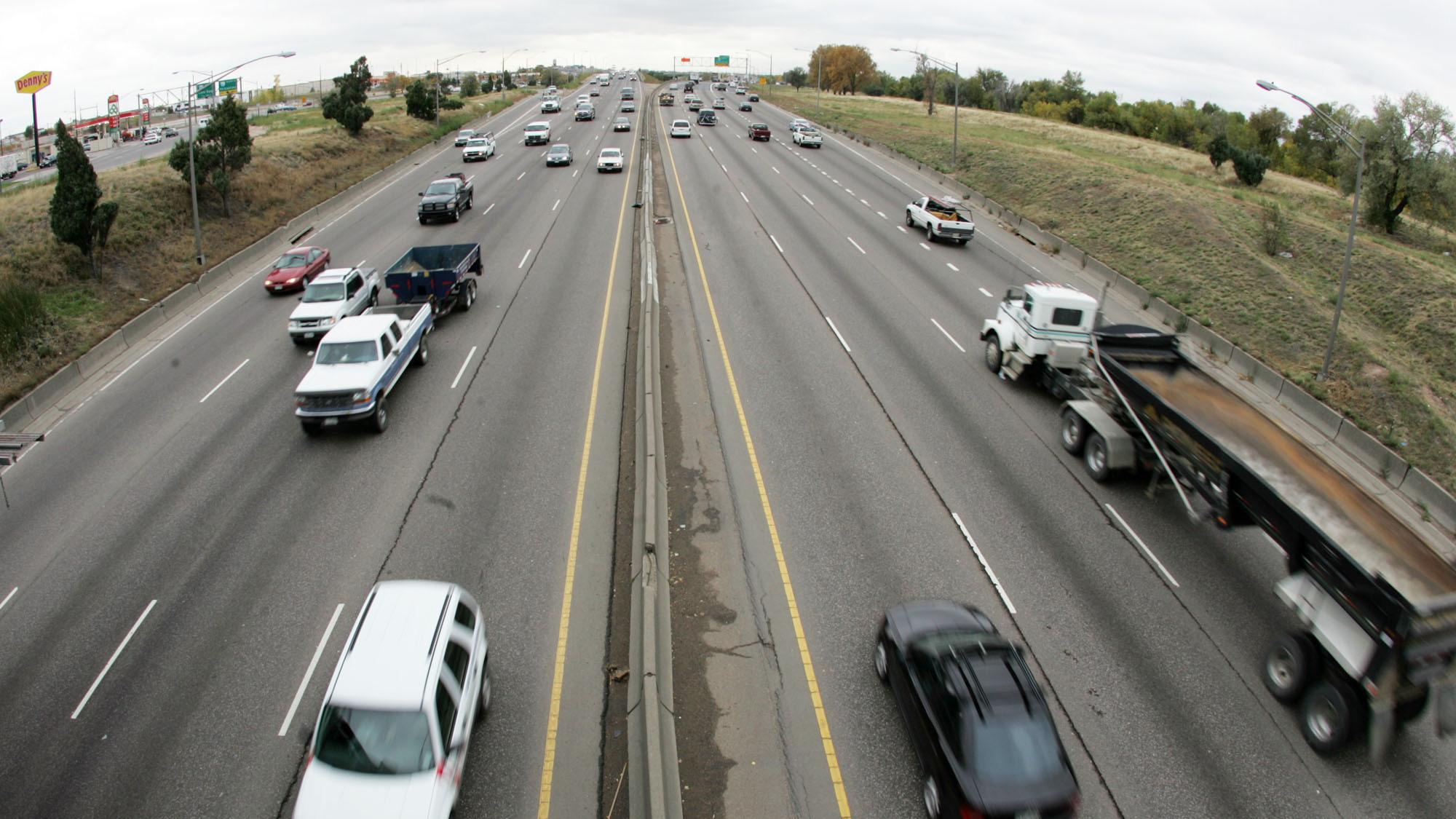 Photo: Denver traffic (AP Photo)
