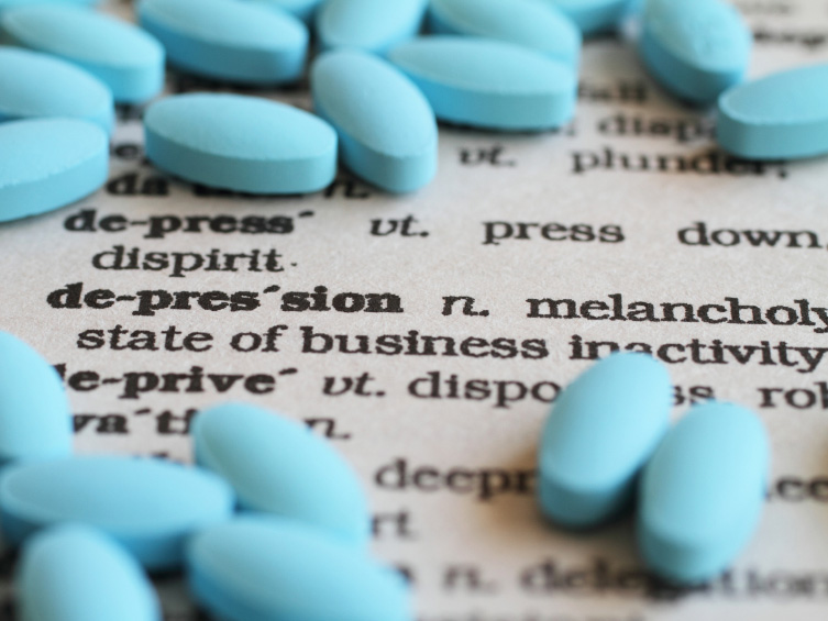 Photo: Anti-depressant pills