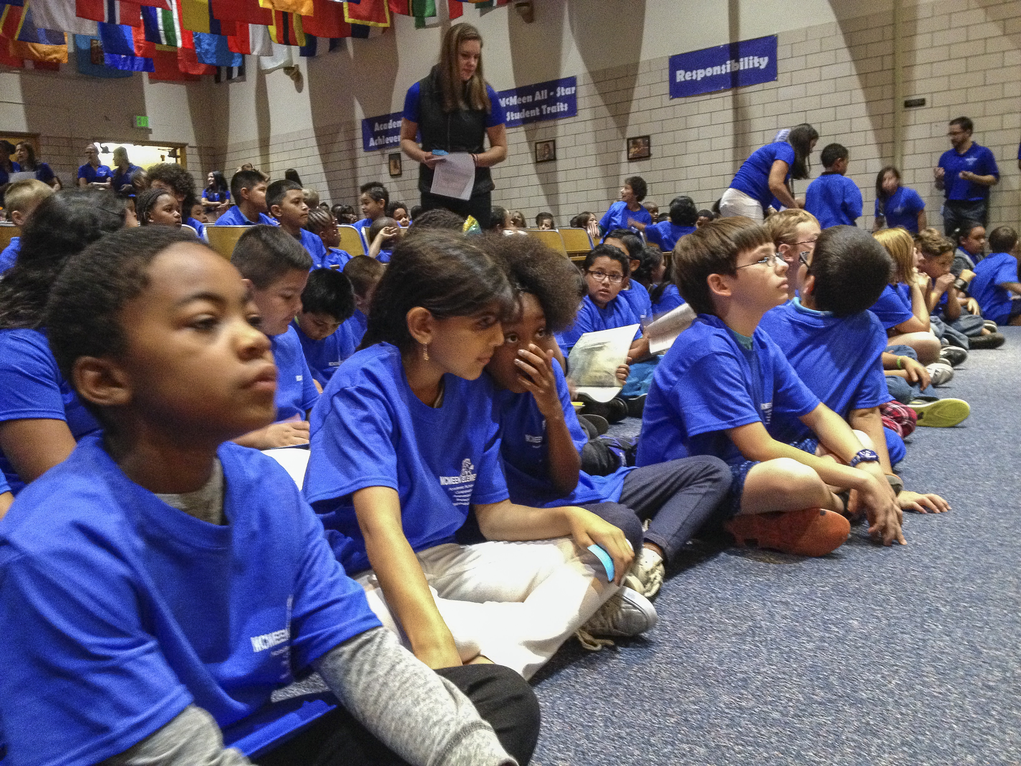 Photo: McMeen Elementary students