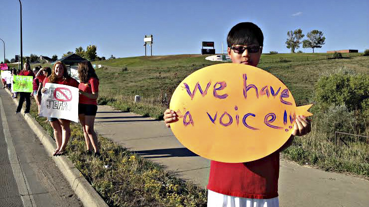 Photo: Protest at Standley Lake