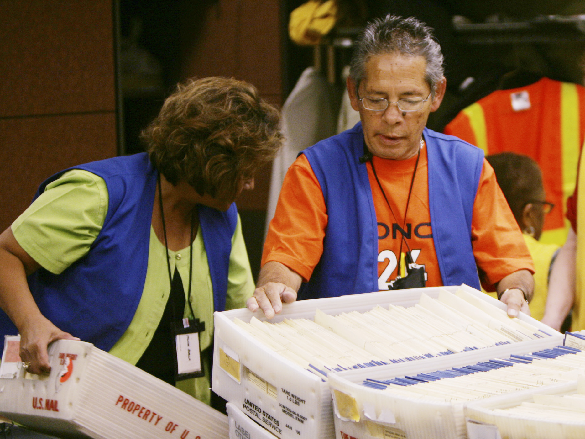 Photo: Mail-in ballots (AP Photo)