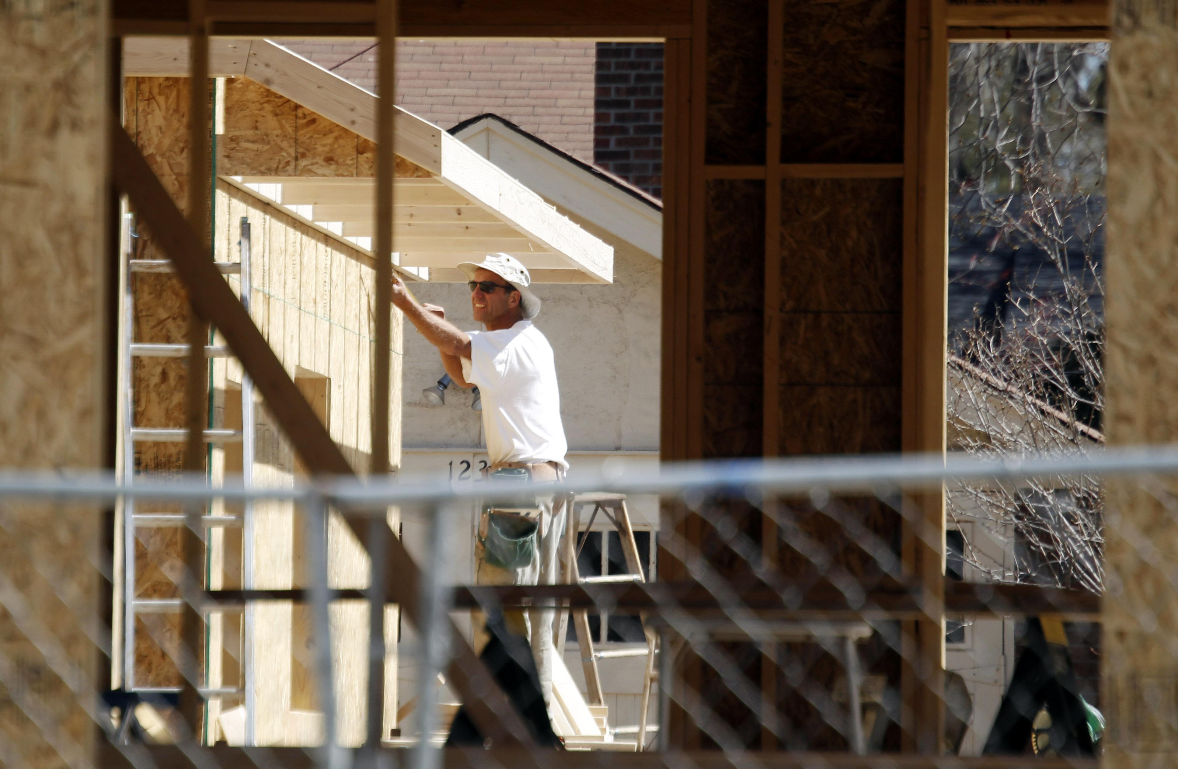 Photo: Home construction (AP Photo)