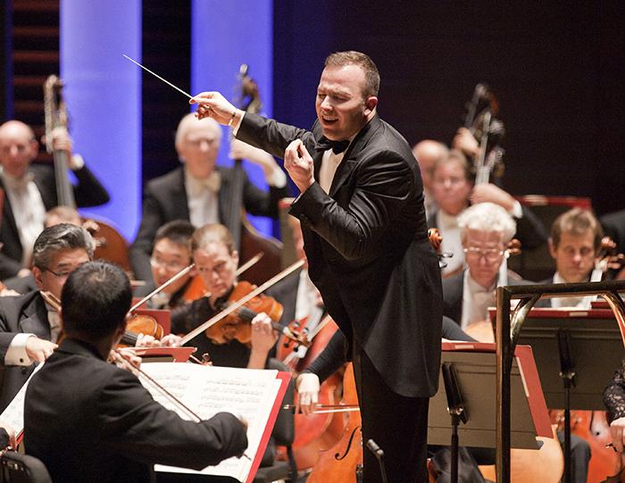 <p>Yannick Nézet-Séguin conducts the Philadelphia Orchestra.</p>