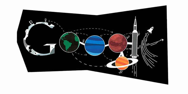 Photo: Ryan Shea Google 4 Doodle