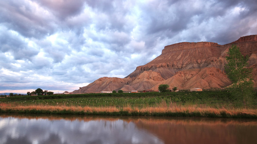 Photo: Mount Garfield near Palisade, Colorado (iStock)
