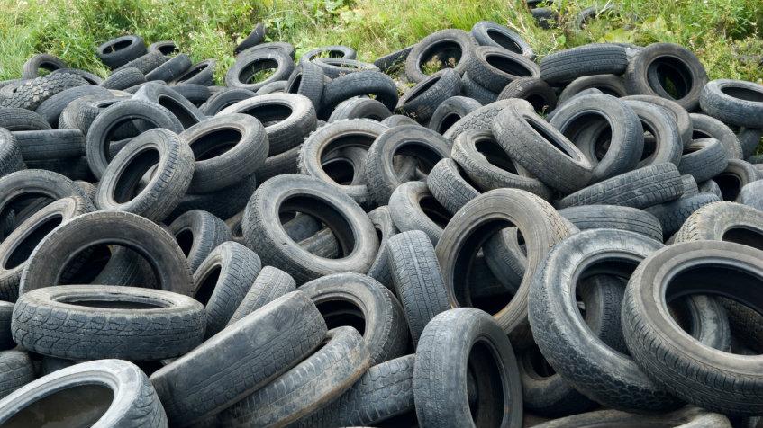 Photo: Old tires (iStock)