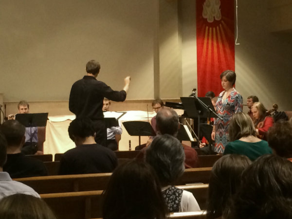 Photo: 'Pierrot Lunaire' performance by DU students