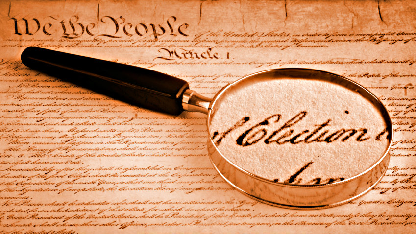 Photo: Election constitution (iStock)