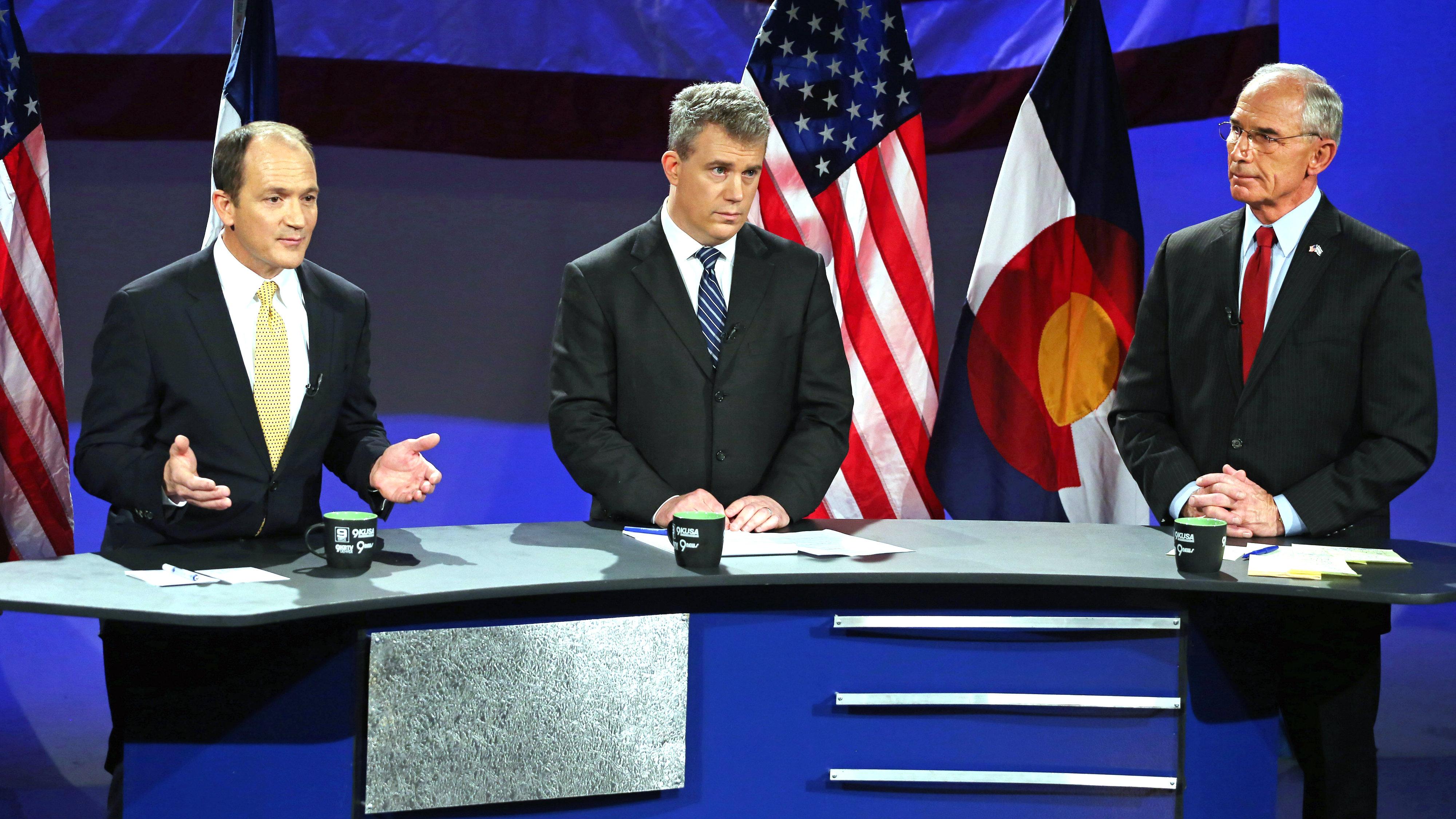 Photo: Colorado Governor GOP Debate (April 2014)