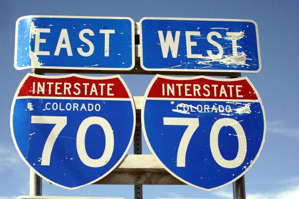 Photo: I-70 sign (iStock)