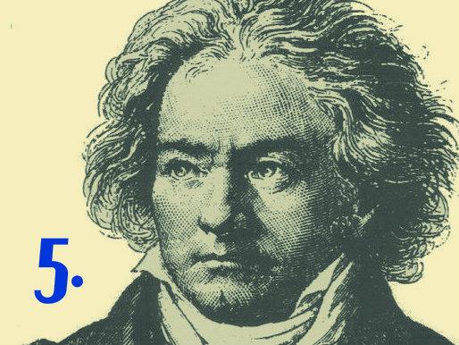Photo: Beethoven Symphony 5 slide