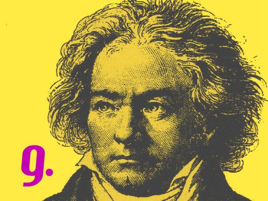 Image: Beethoven symphony 9 slide