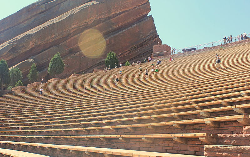 photo: Red Rocks seating