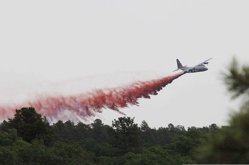 Photo: C-130 fire fighting aircraft
