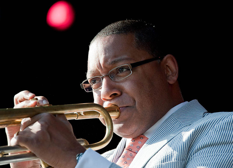 Photo: Wynton Marsalis in 2009