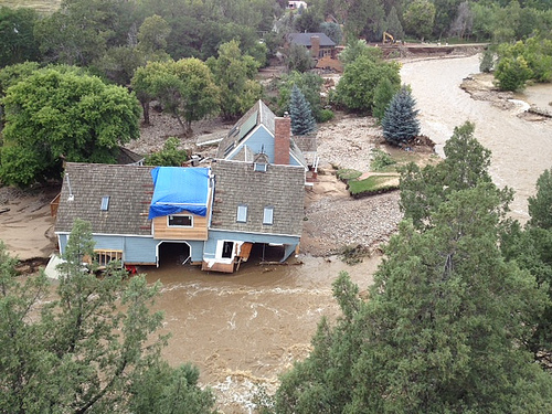 Flooding Relieves Drought In Colorado... But Not Everywhere