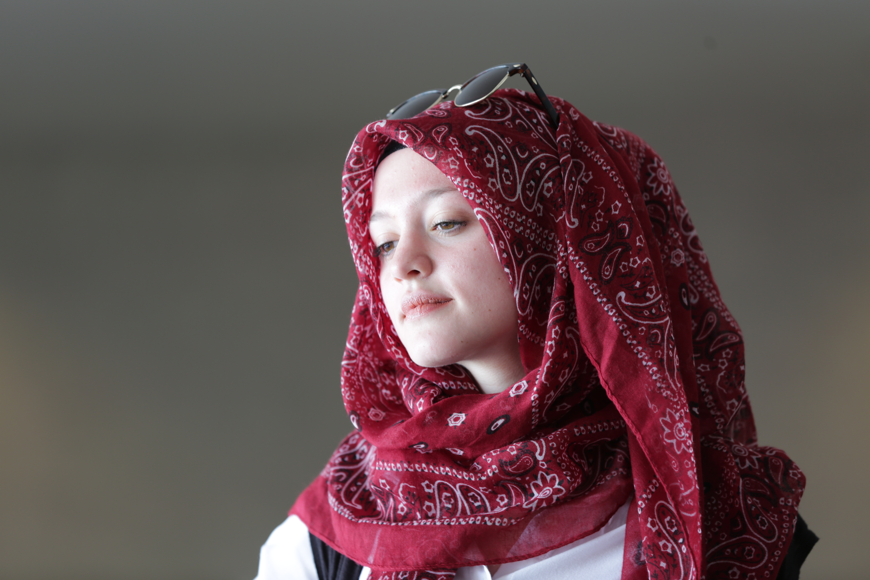<p>Poet Amal Kassir.</p>