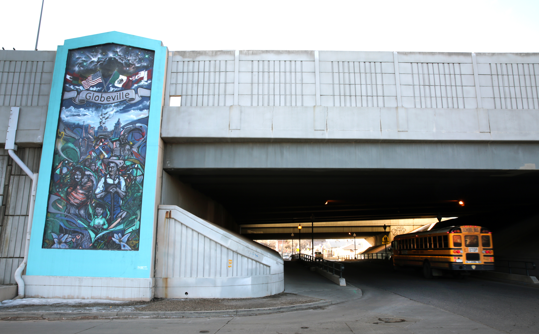 Photo: Globeville I-70 Overpass