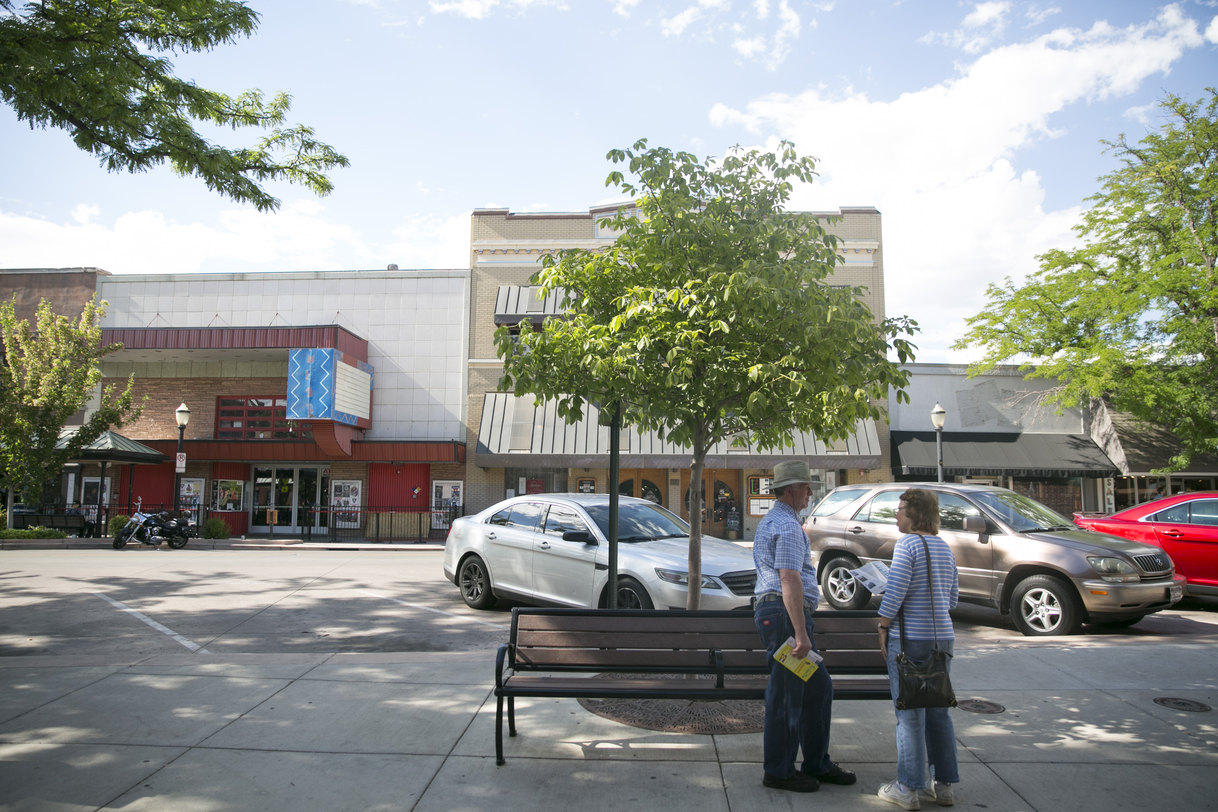 <p>Grand Junction's historic Main Street on Friday, July 13, 2018.</p>