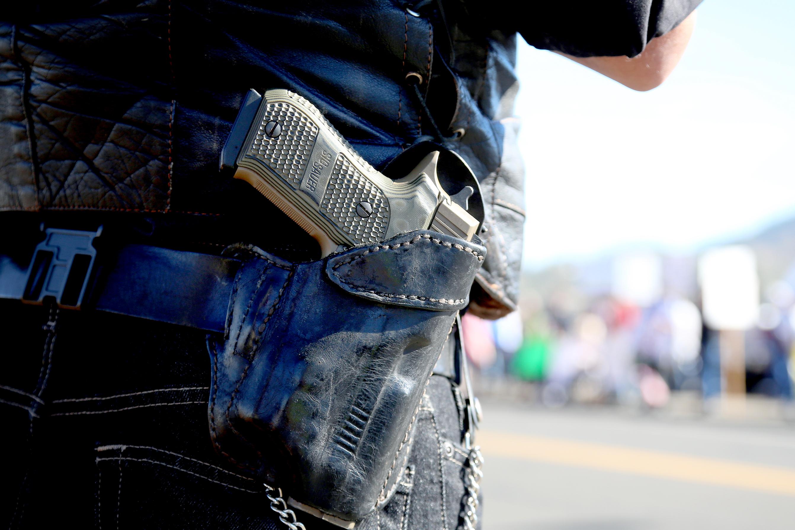 Photo: Gun In Holster
