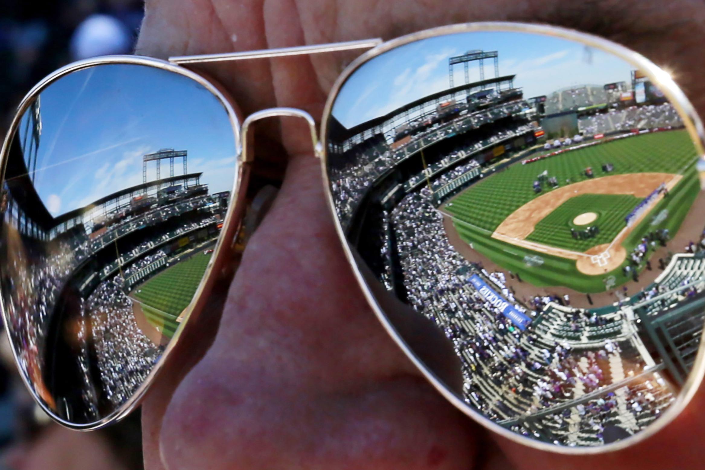 Photos: Rockies Fan Sunglasses Coors Field