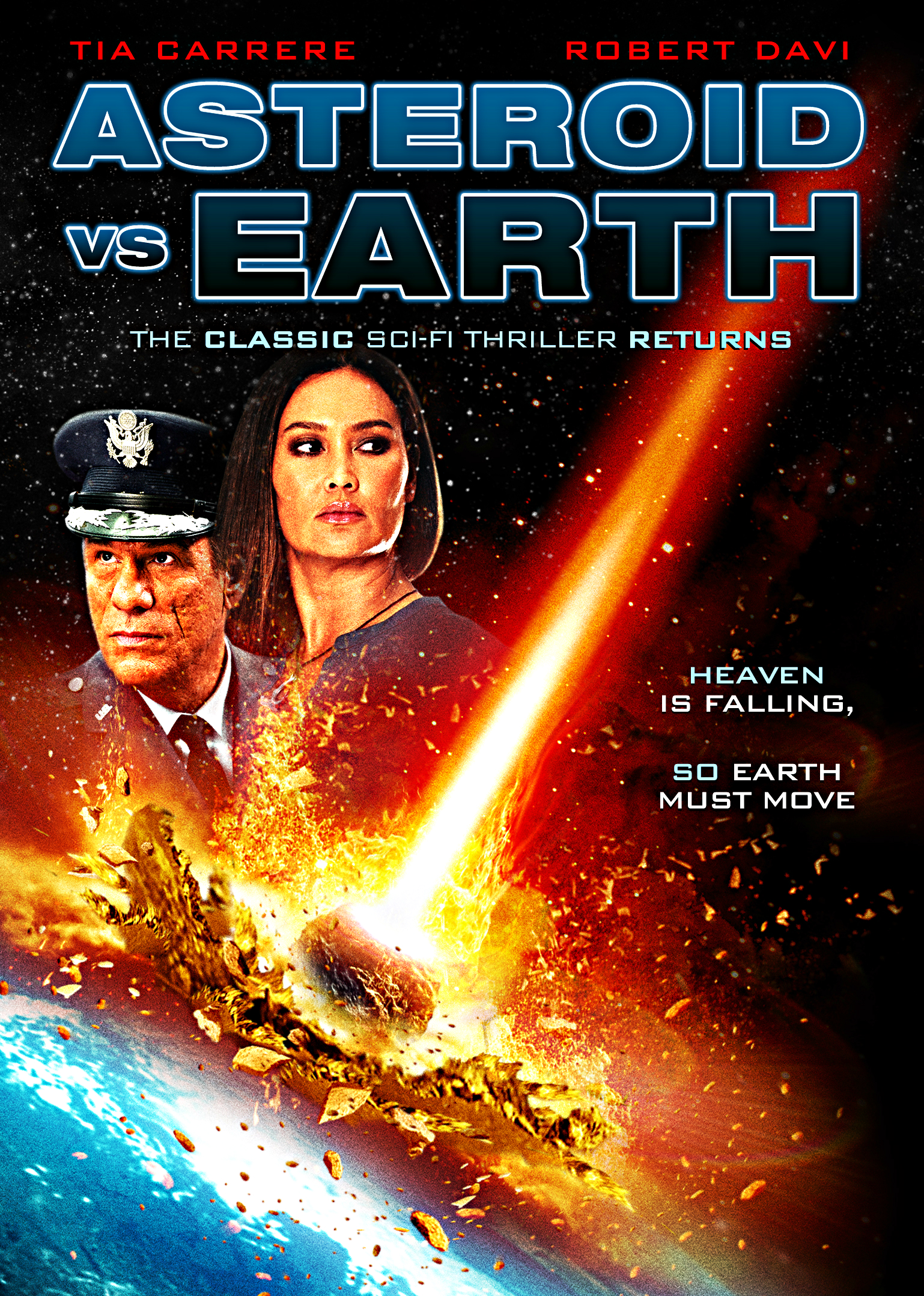 """<p>Official movie poster for """"Asteroid vs. Earth"""" released by The Asylum.</p>"""